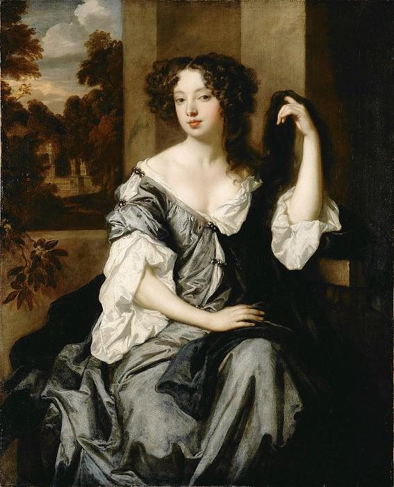 Лели сэр Питер (ван дер Фас) (1618 Зост - 1680 Лондон) - Луиза де Керуаль, герцогиня Портсмута (122х101 см) 1671-74. Музей Гетти
