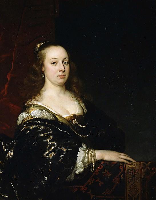 Бакер Адриан (Амстердам 1635-1684) - Женский портрет (95х75 см) ок1650. J. Paul Getty Museum