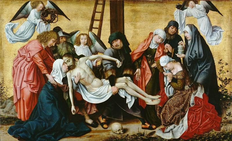 Вейден Рогир ван дер (Роже де ла Патюр) (1400 Турне - 1464 Брюссель) - Снятие с креста (62х100 см) ок1490. J. Paul Getty Museum
