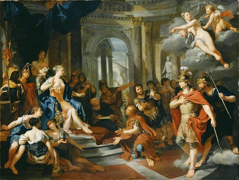 Верколье Николас (1673 Делфт - 1746 Амстердам) - Дидона и Эней (87х115 см). J. Paul Getty Museum