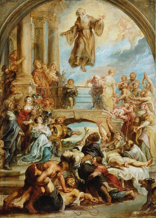 The Miracles of Saint Francis of Paola. Peter Paul Rubens