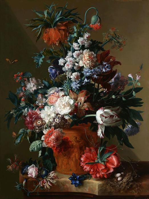 Хейсум Ян ван (Амстердам 1682-1749) - Цветы в вазе (79х61 см) 1722. J. Paul Getty Museum