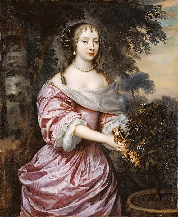 Мейтенс Ян (Гаага ок1614-1670) - Женский портрет (70х57 см) 1660-е. J. Paul Getty Museum