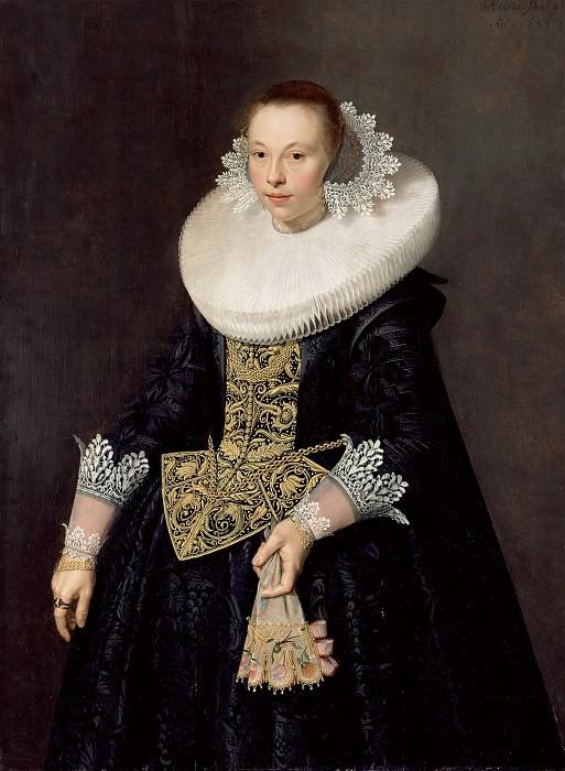 Пикеной Николас Элиас (Амстердам 1588-ок1655) - Женский портрет (144х115 см) 1632. J. Paul Getty Museum