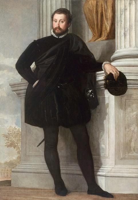 Веронезе (Паоло Кальяри) (Верона 1528 - 1588 Венеция) - Мужской портрет (192х134 см) 1576-78. J. Paul Getty Museum