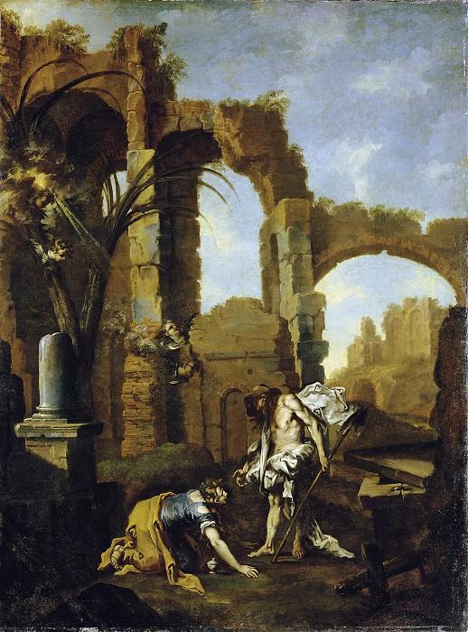 Маньяско Алессандро (прозв Лиссандрино) (Генуя 1667-1749) - Не касайся меня (145х109 см) 1705-10. Музей Гетти