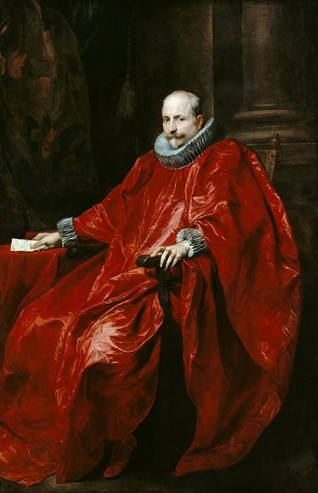Дейк Антонис ван (1599 Антверпен - 1641 Лондон) - Портрет Агостино Паллавичини (216х141 см) ок1621. Музей Гетти