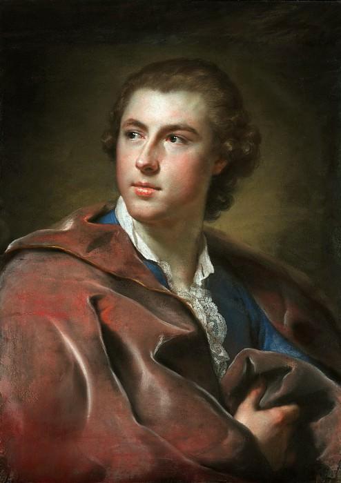 Менгс Антон Рафаэль (1728 Ауссиг - 1779 Рим) - Вильям Бартон Конингем (68х48 см) 1755. J. Paul Getty Museum