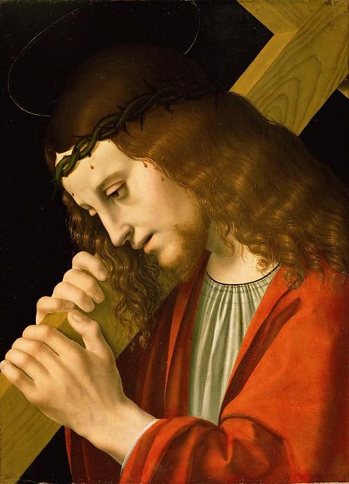 Марко дОджоно (Милан ок1467-1524) - Христос, несущий крест (37х27 см) 1495-00. Музей Гетти