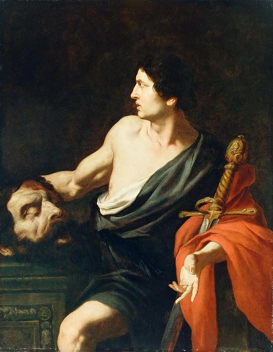 Новелли Пьетро (Монреалезе) (1603 Монреале - 1647 Палермо) - Давид с головой Голиафа (126х100 см) 1630-е. J. Paul Getty Museum