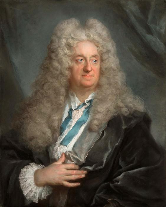 Вивьен Жозеф (1657 Лион - 1734 Бонн) - Мужской портрет (92х66 см) ок1725. Музей Гетти