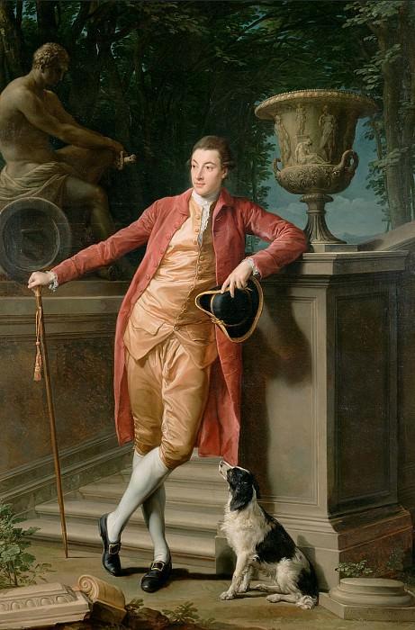 Батони Помпео Джироламо (1708 Лукка - 1787 Рим) - Портрет Джона, первого графа Тэлбота (274х182 см) 1773. J. Paul Getty Museum