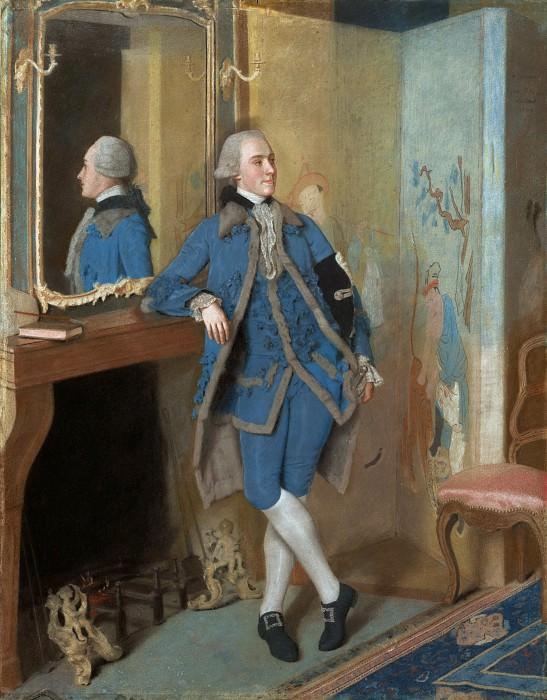 Лиотар Жан Этьен (Женева 1702-1789) - Джон, лорд Маунтстюарт (111х86 см) 1763. J. Paul Getty Museum