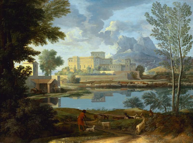 Landscape. Nicolas Poussin