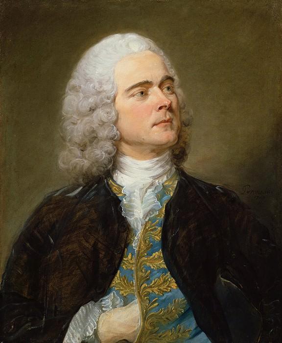 Перроно Жан-Батист (1715 Париж - 1783 Амстердам) - Шарль-Франсуа де ла Гранж (65х54 см) 1747. J. Paul Getty Museum