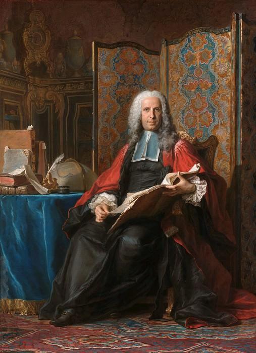Maurice Quentin de La Tour -- Gabriel Bernard de Rieux. J. Paul Getty Museum