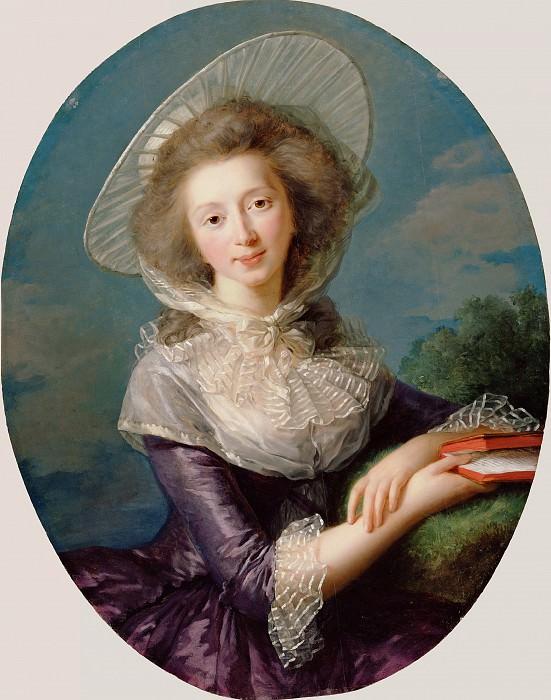 The Vicomtesse de Vaudreuil. Élisabeth Louise Vigée Le Brun