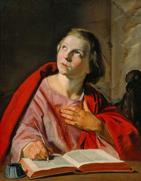 Халс Франс (1580 Антверпен - 1666 Харлем) - Иоанн Евангелист (70х55 см) 1625-28. J. Paul Getty Museum