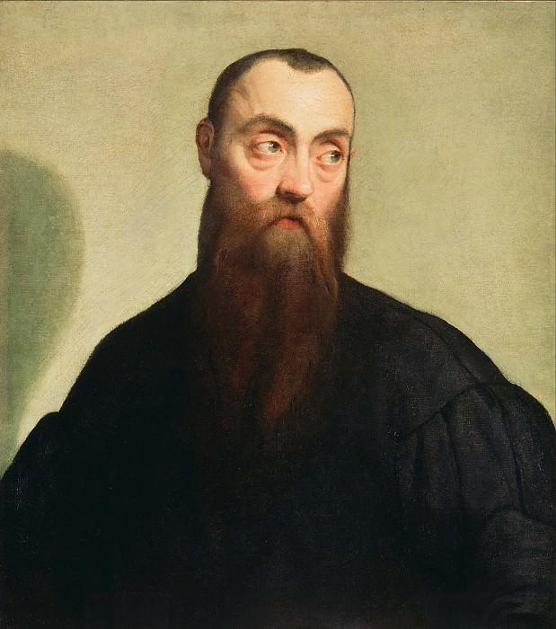 Бассано Якопо (Якопо да Понте) (Бассано ок1515-1592) - Портрет бородатого мужчины (61х53 см) ок1550. Музей Гетти