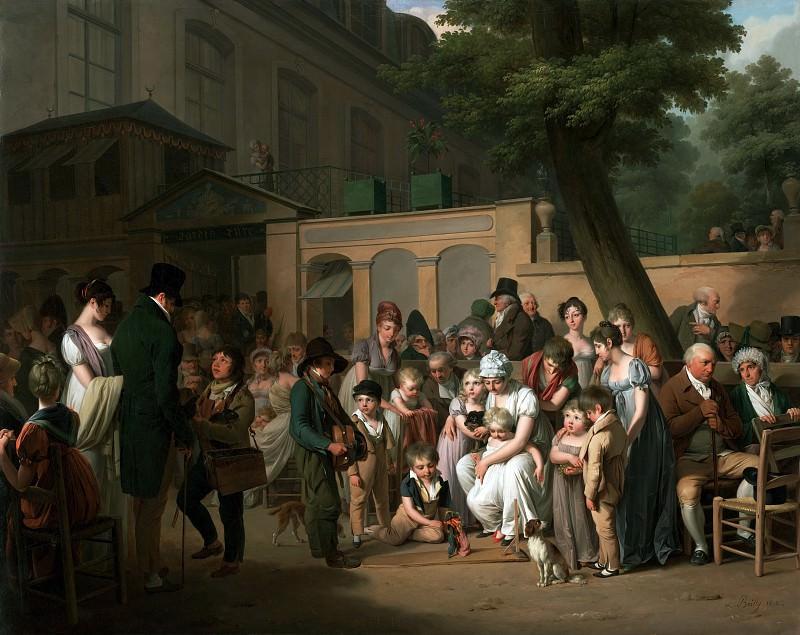 Буальи Луи-Леопольд (1761 Ла Бассэ - 1845 Париж) - На вьезде в кафе Турецкие Сады (73х91 см) 1812. J. Paul Getty Museum
