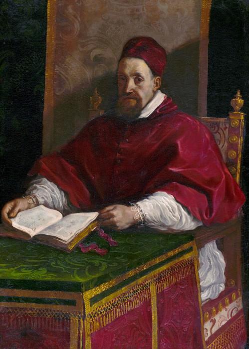 Гверчино (Джованни Франческо Барбьери) (1591 Ченто - 1666 Болонья) - Папа Григорий XV (134х98 см) 1623. J. Paul Getty Museum