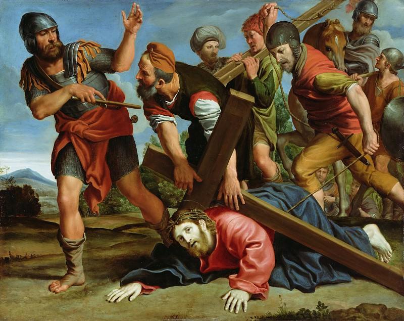Доменикино (Доменико Дзампьери) (1581 Болонья - 1641 Неаполь) - Крестный путь (53х67 см) ок1610. J. Paul Getty Museum