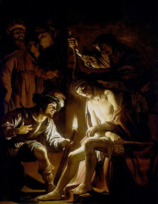 Хонтхорст Геррит ван (Утрехт 1592-1656) - Увенчание тернием (222х173 см) ок1620. J. Paul Getty Museum