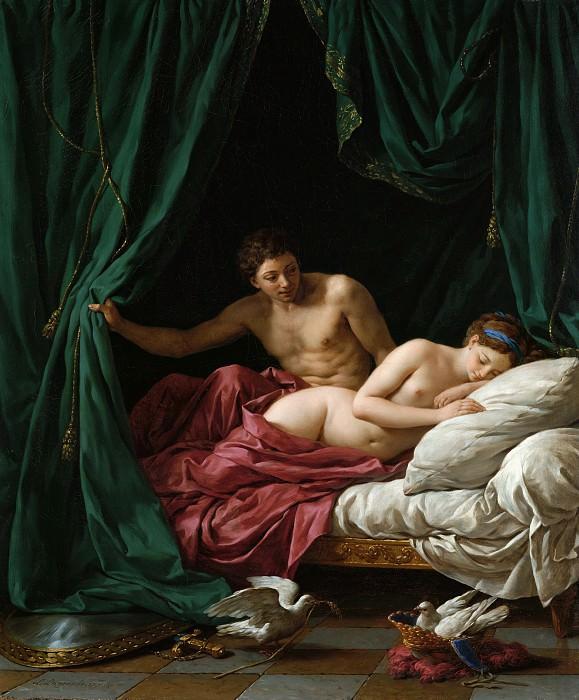 Лагрене Луи-Жан-Франсуа (Париж 1725-1805) - Марс и Венера, аллегория мира (85х75 см) 1770. J. Paul Getty Museum