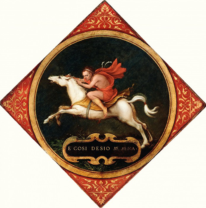 Гольбейн Ганс младший (1497 Аугсбург - 1543 Лондон) - Аллегория страсти (45х45 см) 1532-36. J. Paul Getty Museum