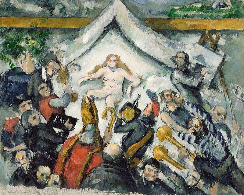Сезанн Поль (Экс-ан-Прованс 1839-1906) - Вечная женственность (65х79 см) 1893-94. J. Paul Getty Museum