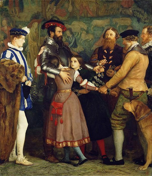 Миллес сэр Джон Эверетт (1829 Саутгемптон - 1896 Лондон) - Выкуп (129х114 см) 1860-62. J. Paul Getty Museum