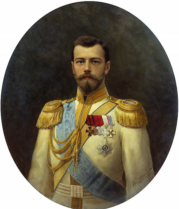 Галкин Илья 1860 1915 Николай II 1898. часть 1 - Russian and soviet artists Русские и советские художники