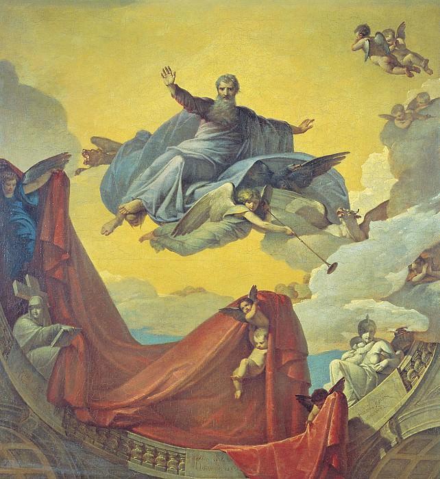 Видение пророка Иезекииля 1836. часть 1 - русских и советских худ Русские и советские художники