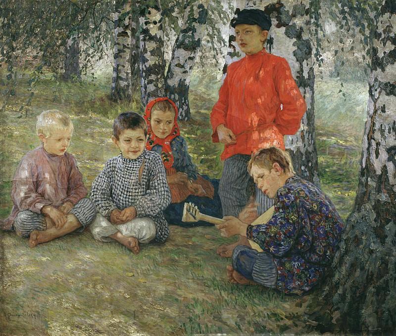 Виртуоз Холст масло. часть 1 - русских и советских худ Русские и советские художники
