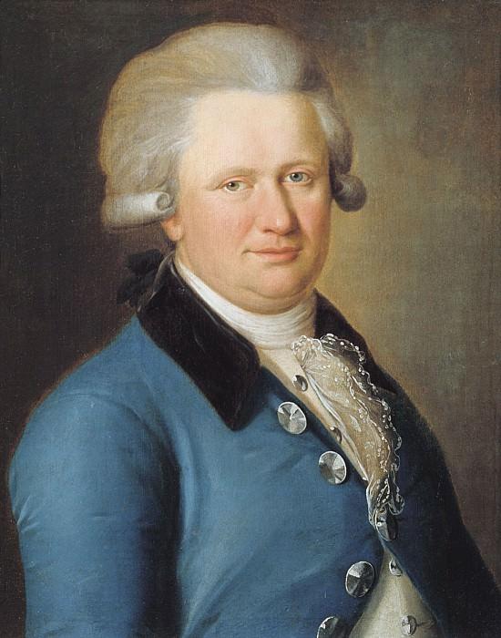 Мужской портрет 1790 е. часть 1 - русских и советских худ Русские и советские художники