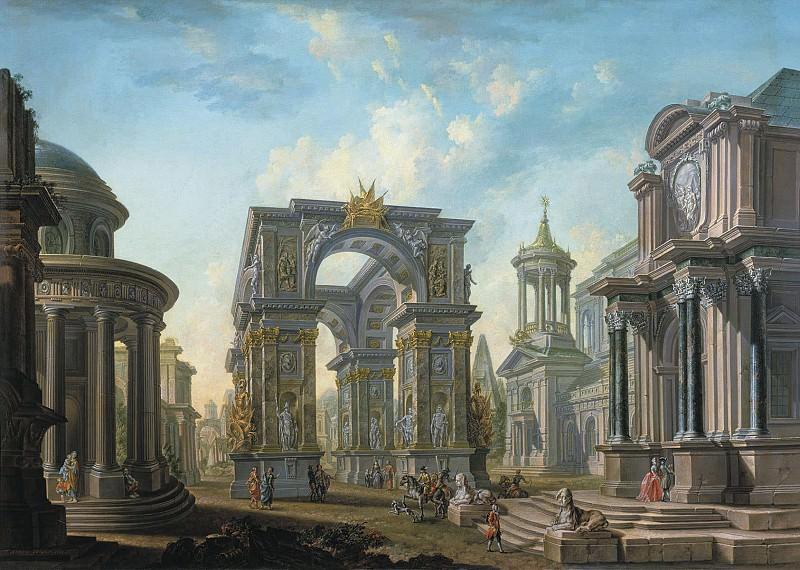 Архитектурный вид 1789. часть 1 - русских и советских худ Русские и советские художники