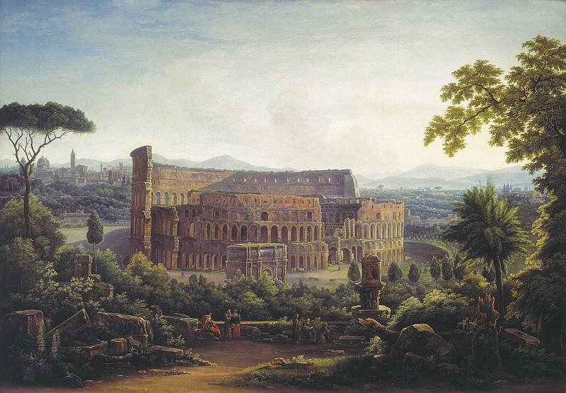 Вид Рима Колизей 1816. часть 1 - русских и советских худ Русские и советские художники