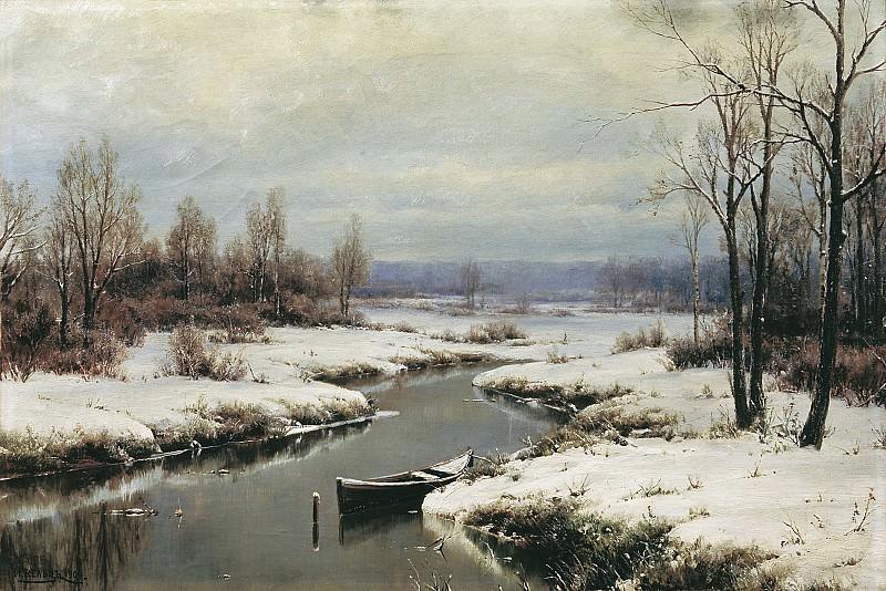 Начало зимы 1904 Холст масло 61х90 см. часть 1 - русских и советских худ Русские и советские художники