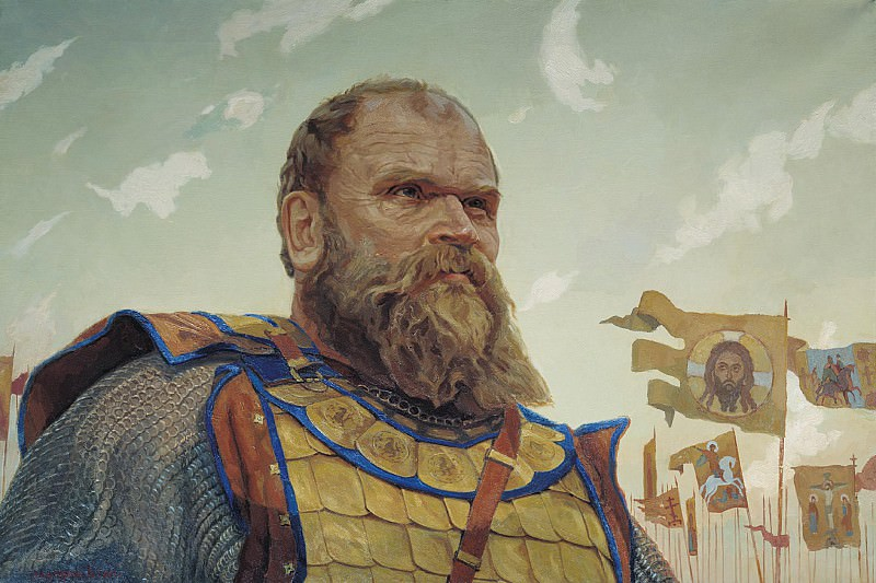 Герой Куликовской битвы Боброк Волынский. часть 1 - русских и советских худ Русские и советские художники
