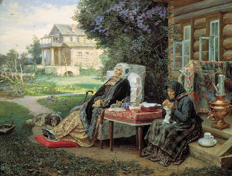 Все в прошлом 1889 холст масло 72х94 см. часть 1 - русских и советских худ Русские и советские художники