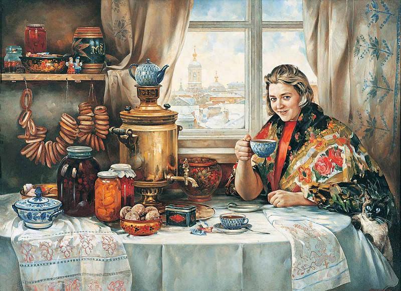 Конфетки бараночки Холст масло 150 х 220 см 1997 г. часть 1 - русских и советских худ Русские и советские художники