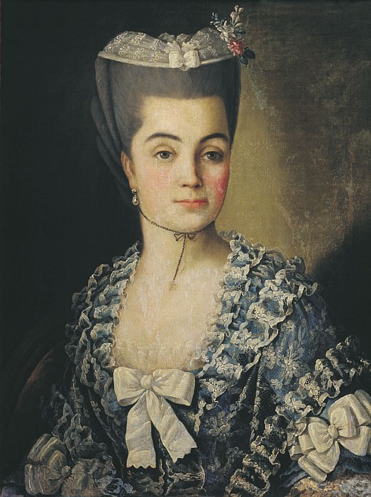 Женский портрет 1775. часть 1 - русских и советских худ Русские и советские художники