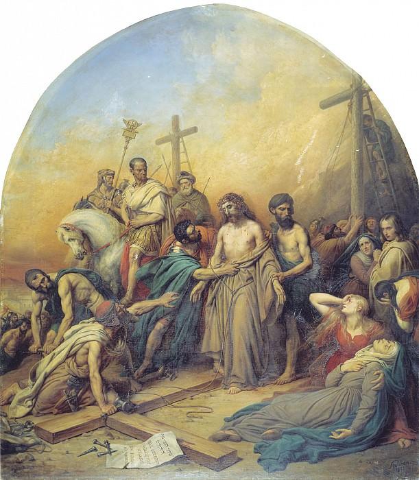 На Голгофе 1841. часть 1 - русских и советских худ Русские и советские художники
