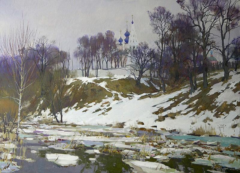 Ледоход 45x70 2005. часть 1 - русских и советских худ Русские и советские художники