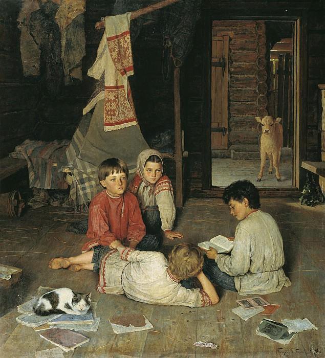 Новая сказка 1891. часть 1 - русских и советских худ Русские и советские художники