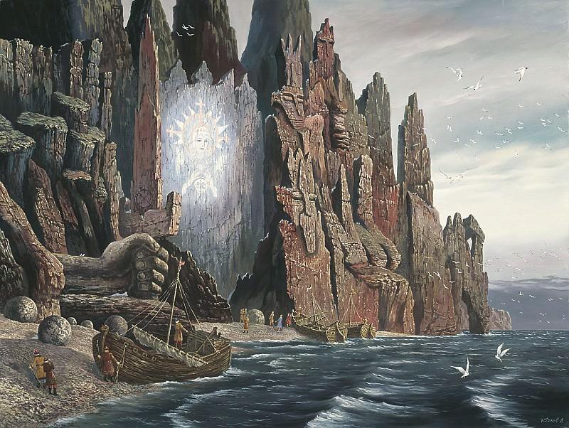 Видение панорам великой богини Арктиды 2005. часть 1 - русских и советских худ Русские и советские художники