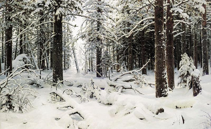 Зима 1890 холст масло 126х204 см. часть 1 - русских и советских худ Русские и советские художники