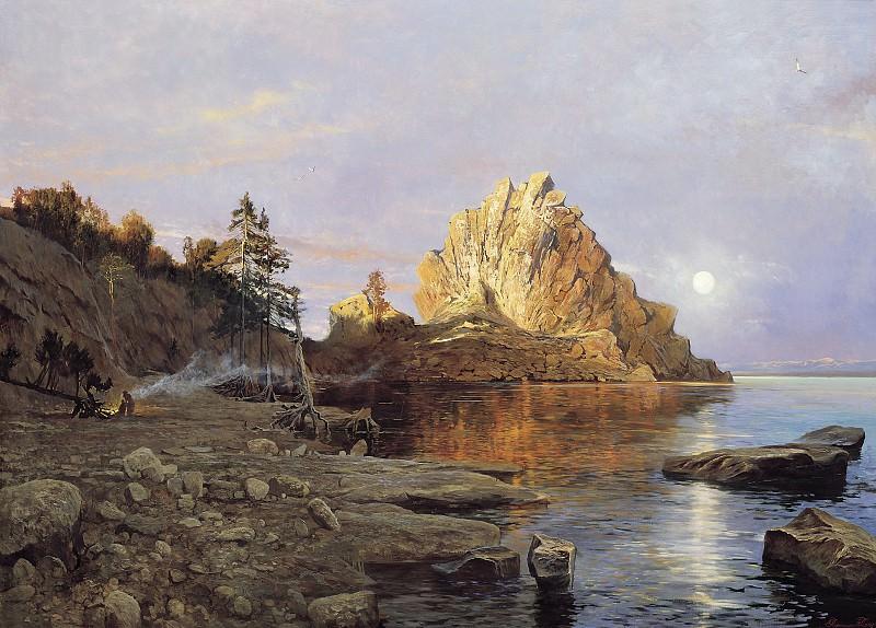 Гребень Чингисхана Озеро Байкал. часть 1 - русских и советских худ Русские и советские художники