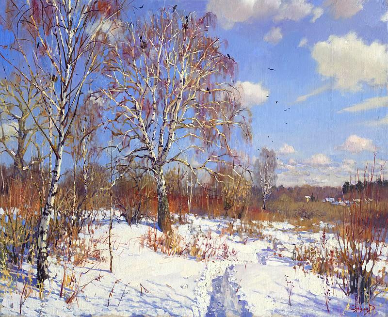 Дорога домой 75x95 2005. часть 1 - русских и советских худ Русские и советские художники