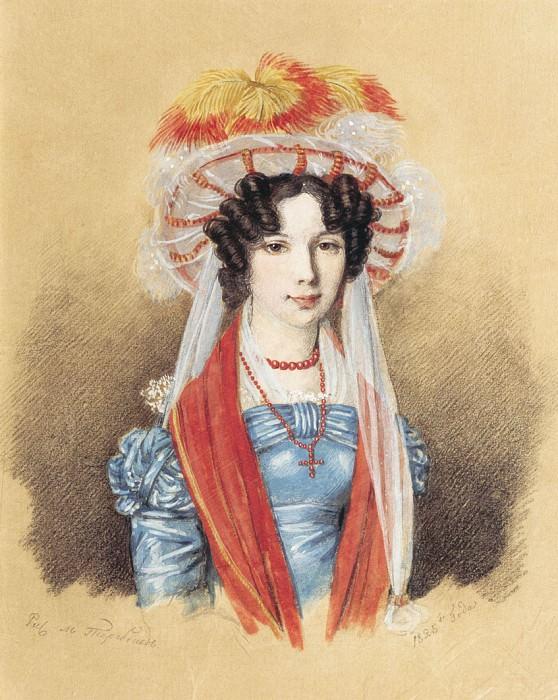 Женский портрет 1825. часть 1 - русских и советских худ Русские и советские художники